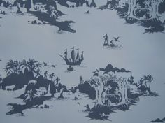 Peter Pan wallpaper... that would be AWESOME