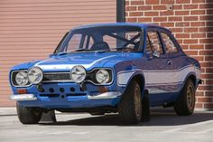 The Ford Escort Mk 1 Mexico/RS 2000 as seen in Fast & Furious 6.
