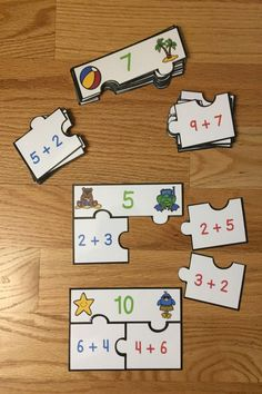 Looking for a fun teaching idea for the commutative property? Well look no further as Commutative Property of Addition Puzzles, for CCSS 1.OA.3, will serve as an exciting lesson for 1st grade elementary school classrooms. This is a great resource for a guided math center rotation, review game exercise, small group work and for an intervention or remediation. I hope you download and enjoy this engaging hands-on manipulative activity with your students!