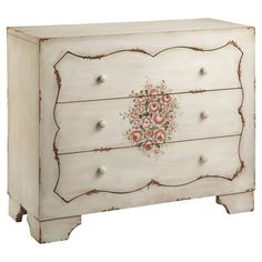This elegant chest is perfect for stowing fresh linens in your master suite or spare hand towels ...
