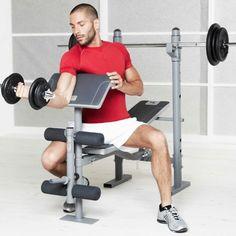 Fitness_muscu Fitness, Yoga - Banc de musculation BM 210 DOMYOS - Musculation, Tonification