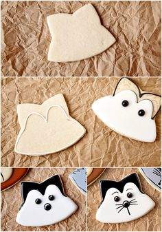 Make Decorated Woodland Cookies with a How to Video | The Bearfoot Baker