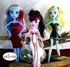 Monster Fashion Set 4 - Kleid Top Rock  e.g. Monster High, Ever After High 63056