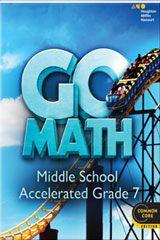 GO Math! Accelerated Grade 7 | Math Class | Go math, Math, Student