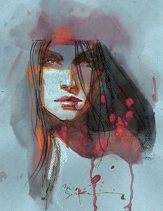 Elektra by Bill Sienkiewicz * - Art Vault