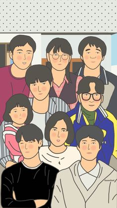 reply 1988 Cartoon Wallpaper, Wallpaper S, Hyeri, Homescreen Wallpaper, Rainbow Aesthetic, Aesthetic Pastel Wallpaper, Room Posters, Aesthetic Stickers, Korean Art