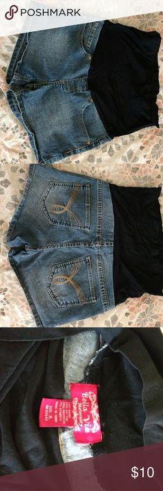Maternity shorts Shorts, blue jean Shorts Jean Shorts