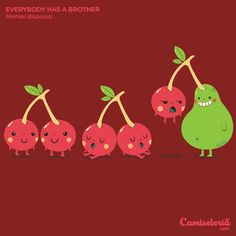 Camiseta 'everybody has a brother'. http://cami.st/p/1732