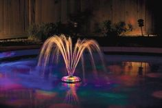 New! Underwater LED Light Show and Fountain Swimming Pool Party Decor Garden in Home & Garden, Yard, Garden & Outdoor Living, Pools & Spas | eBay