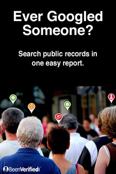 Do you ever wish there was a way you could make more informed decisions about the people you let into your life? With BeenVerified, it's never been easier. BeenVerified offers an easy and affordable way to run background checks on virtually anyone and then sends you a single, easy-to-read report. Learn more at BeenVerified.com.