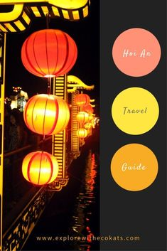 Hoi An is a quaint town away from the hustle bustle of Vietnam cities, having a beautiful charm. Presenting Hoi An travel guide. Vietnam Travel, Asia Travel, Travel Tips, Travel Destinations, Travel Guides, Cambodia Travel, Travel Packing, Thailand Travel, Hoi An