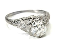 i love antique rings