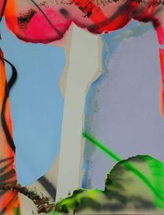 Tira Walsh, Madness, mixed media on canvas, 1200mm x 1600mm, ©,  2016