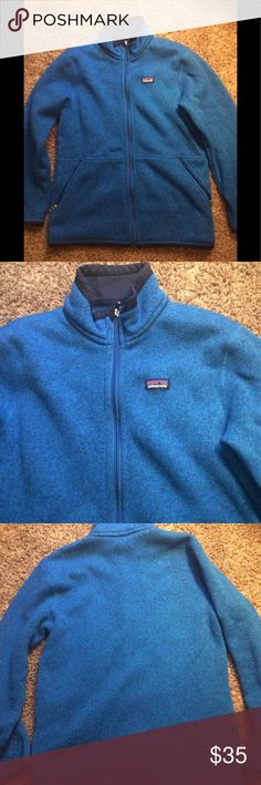 Patagonia better sweater perfect Patagonia better sweater perfect condition boys large Patagonia Jackets & Coats