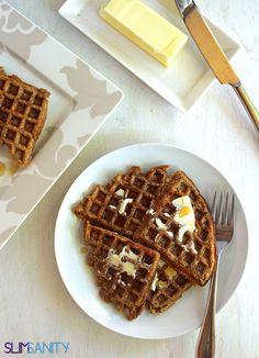 Whole-Wheat Apple Sauce Waffles