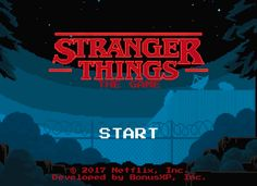 Stranger Things: The Game Walkthrough Game Guide