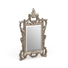 Allan Andrews Ornate Accent Mirror - Overstock - 18226414 Accessories Store, Decorative Accessories, Wedding Mirror, Ornate Mirror, Home Decor Outlet, Baroque, Antique Silver, Home And Garden, Antiques