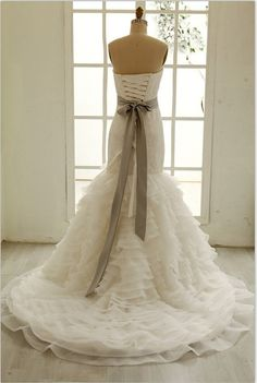 Hey, I found this really awesome Etsy listing at http://www.etsy.com/listing/156896434/lace-organza-mermaid-wedding-dress-with