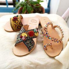 Summer is knocking on our door! Dimitra's Workshop sandals on Etsy #dimitrasworkshop