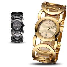Auto Date Brand Luxury Crystal Gold Watches Women Fashion Bracelet Quartz Watch Shock Watreproof Relogio Feminino orologio donna