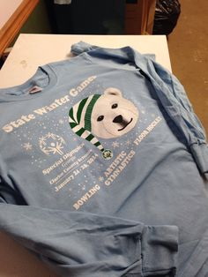 Clarke County Special Olympics Winter Games tee 2014.