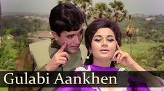 Gulabi Aankhein Jo Teri - Rajesh Khanna Songs - The Train - Mohd Rafi