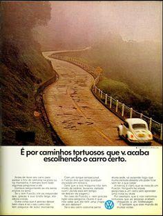 Anúncio Fuscão - 1972