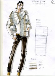Cool one sleeve shawl - raccolta modelli in italiano-S would love this Crochet Shawl, Knit Crochet, Crochet Pattern, Free Sewing, Dressmaking, Diy Fashion, Knit Dress, Hand Knitting, Knitwear