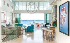 Tour a Colorful Harbor Acres Home Designed by Pamela Hughes of Hughes Design…