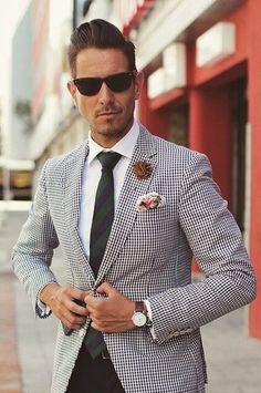 Karl Lagerfeld Paris Sakko Gr 25 Jackett size 40S Blazer White Black Gingham