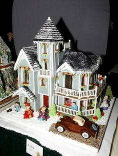 The National Gingerbread House Competition - Adult Fourth Place Winner 2007 - The Grove Park Inn Resort and Spa - Asheville - North Carolina