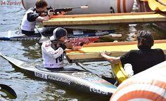 Vodní slalomáři i další sportovci se prali s Vltavou a laserovou střelnicí