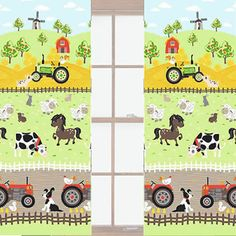 Apple Tree Farm Curtains 72s