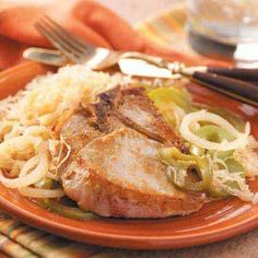 Pork Chops –n- Sauerkraut - CanCooker, Inc.