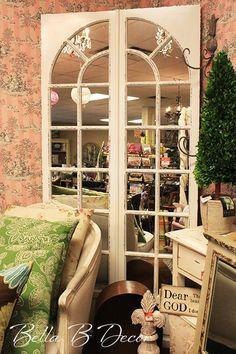 French door mirror! ~Bella B Decor