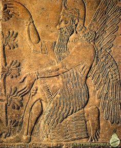 El templo de Seshat: Los lamassu, genios protectores de Mesopotamia