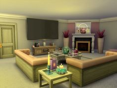 The Sims Resource: The Halstead by sharon337 • Sims 4 Downloads