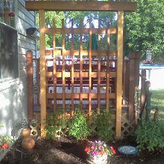 Backyard Trellis or arbor Backyard Retreat Pinterest