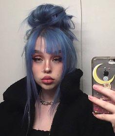 Dye My Hair, New Hair, Hair Inspo, Hair Inspiration, Piercings, Alternative Makeup, Hair Reference, Coloured Hair, Aesthetic Hair