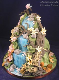 Woodland Fantasy - by MotherandMe @ CakesDecor.com - cake decorating website