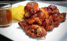 Skrzydełka kurczaka z grilla w winie marynowane