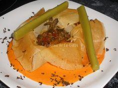 La Cocina de la Silbi: CESTAS DE SETAS Y BAYAS DEL GOJI EN SALSA DE PIQUILLOS Y GELATINA DE GUISANTES  con bayas de goji de www.eldatilero.com en http://www.lacocinadelasilbi.com