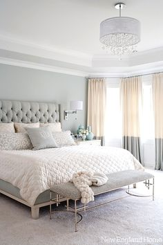 Check these 33 best bed headboard ideas out! There's more of these and plenty other outstanding ideas at glamshelf.com  #homedesign #bedroom #bedroomdecor #bedroomideas