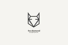 Fox Diamond logo by cairon on @creativework247