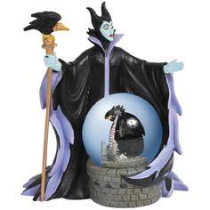 Sleeping Beauty Maleficent Water Globe - Westland Giftware - Sleeping Beauty - Snow Globes at Entertainment Earth Sleeping Beauty Maleficent, Disney Maleficent, Disney Villains, Water Globes, Snow Globes, Disney Snowglobes, Disney Classics Collection, Westland Giftware, Disney Up