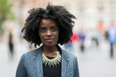 Beauty Inspiration From The Streets Of New York City #refinery29  http://www.refinery29.com/beauty-street-style-new-york-city#slide-10  We love Sarah's sheer red lipstick and gorgeous natural hair. If you're natural, just make sure to keep up with your regular deep-conditioning treatments in the summer — when it's especially prone to dryness, it can use all the extra moisture it can get....