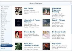 Pandora Workout Stations >> I did not know they had this! I am going to have to check it out. Do you use it at all?