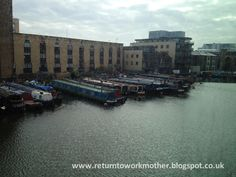 Battlebridge Basin on the Regent's Canal