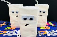 These spooky mummies make fab Halloween party decorations. They are so quick and easy to make but will look great as party of your Halloween party decorations. Halloween Crafts For Kids, Halloween Party Decor, Easy Crafts For Kids, Toddler Crafts, Diy And Crafts, Toddler Games, Water Games For Kids, Indoor Activities For Kids, Summer Activities