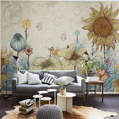 Elegant Photo Wallpaper Rose Flower Wall Murals 3d Custom Wallpaper Kids Bedroom Living Room Girls Room